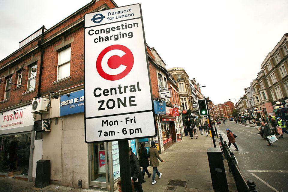 City-Maut: Auch wenn in London seit Einführung der Congestion Charge weniger Verkehr herrscht, sind viele Anwohner der Metropole gegen die Maut. Sie fühlen sich in ihrer Mobilität beschnitten