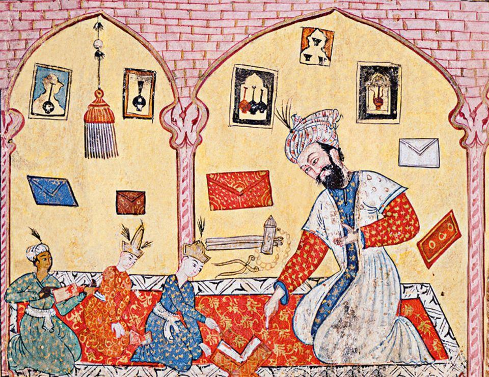 Islam: Koran-Lehrer unterrichten ihre Schüler auch in der Kunst der Rezitation. Denn die Schönheit der Gottesworte ist ebenso wichtig wie deren Inhalt