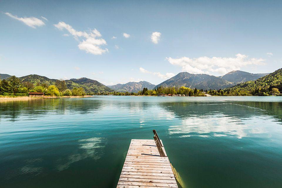 Bayern: Wer weiß wo, findet auch am Tegernsee ruhige und bezahlbare Plätze