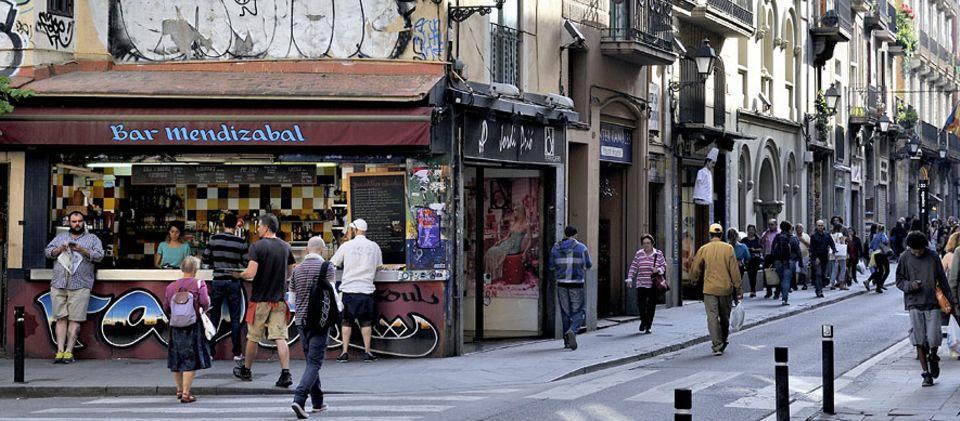 Städtereise: Die Bar Mendizabal ist inzwischen eine Institution zwischen dem Ausgehviertel El Raval und den Ramblas