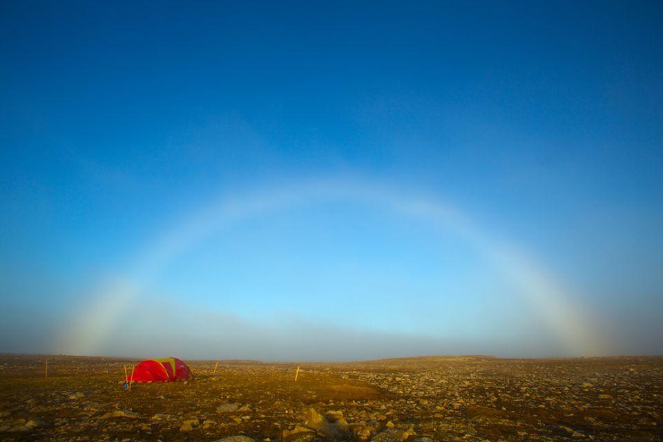 Norwegen: Drei verschiedene Camps schlugen die Brüder während ihres Aufenthalts auf, immer dort wo sie Wellen vermuteten
