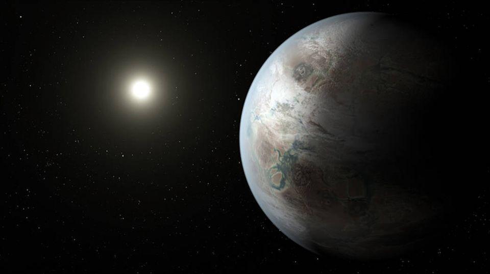 Weltraumforschung: Der erdähnliche Planet Kepler-452b befindet sich in einem weit entfernten Sonnensystem
