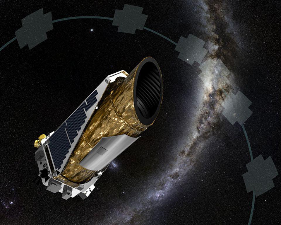 Weltraumforschung: Das Weltraumteleskop Kepler ist seit 2009 im Weltall unterwegs