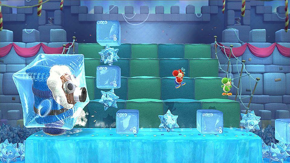 """Konsolenspiel: Das Spiel """"Yoshi's Woolly World"""" ist auch zu zweit spielbar"""