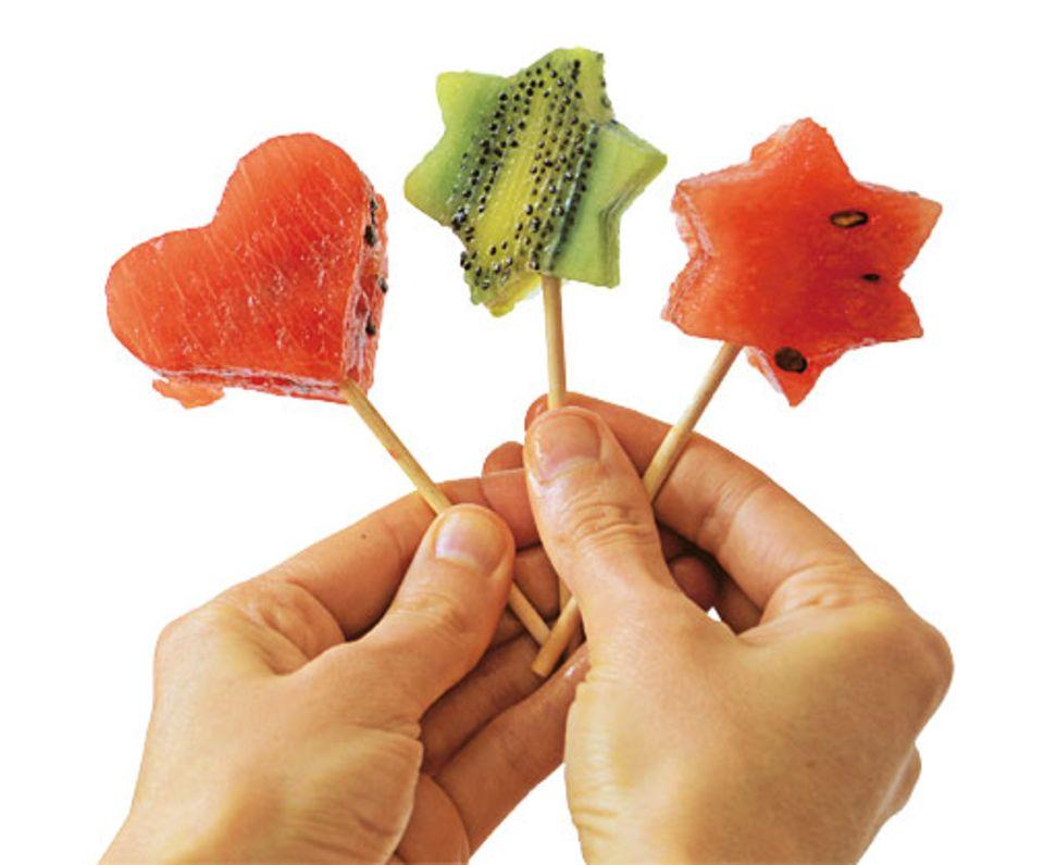 Süßigkeiten: Lolli-Rezepte