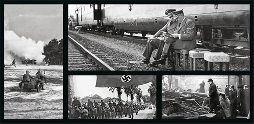 Geschichte in Bildern: Erstes Angriffsziel der Deutschen ist Polen. Bald wendet sich die nationalsozialistische Aggression auch gegen Frankreich