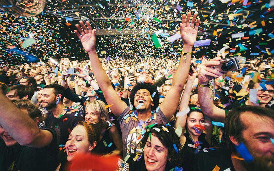 Island: Konfetti-Party! Das Iceland Airwaves begann als unscheinbares Festival am Rande der Hauptstadt und ist inzwischen das bekannteste des Landes