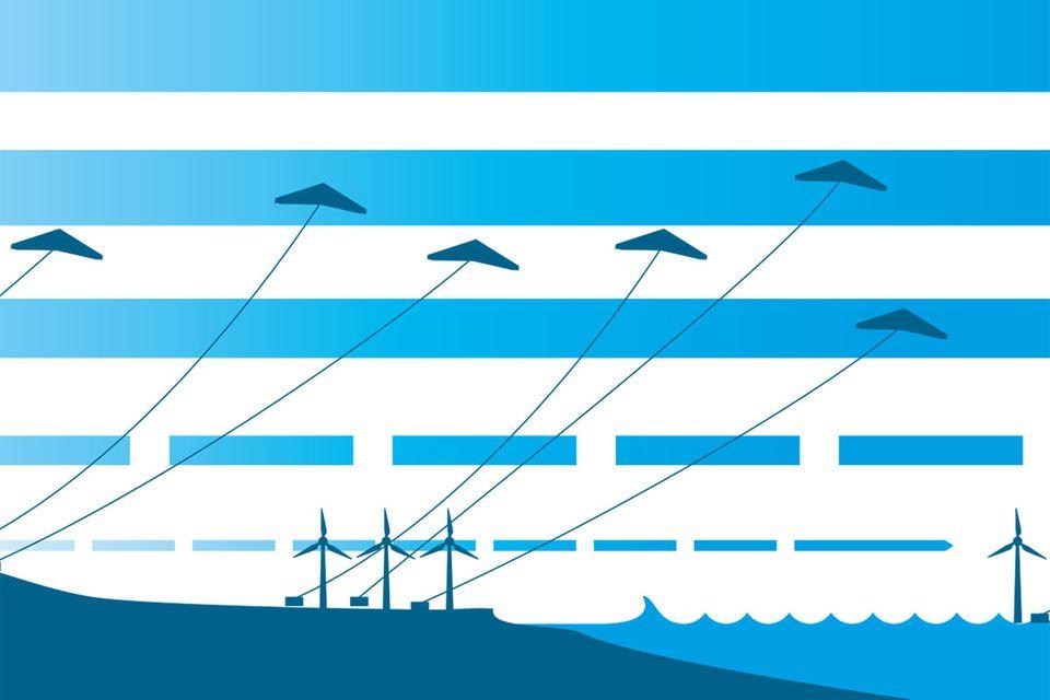 Technik: Diese Drachen speien Energie