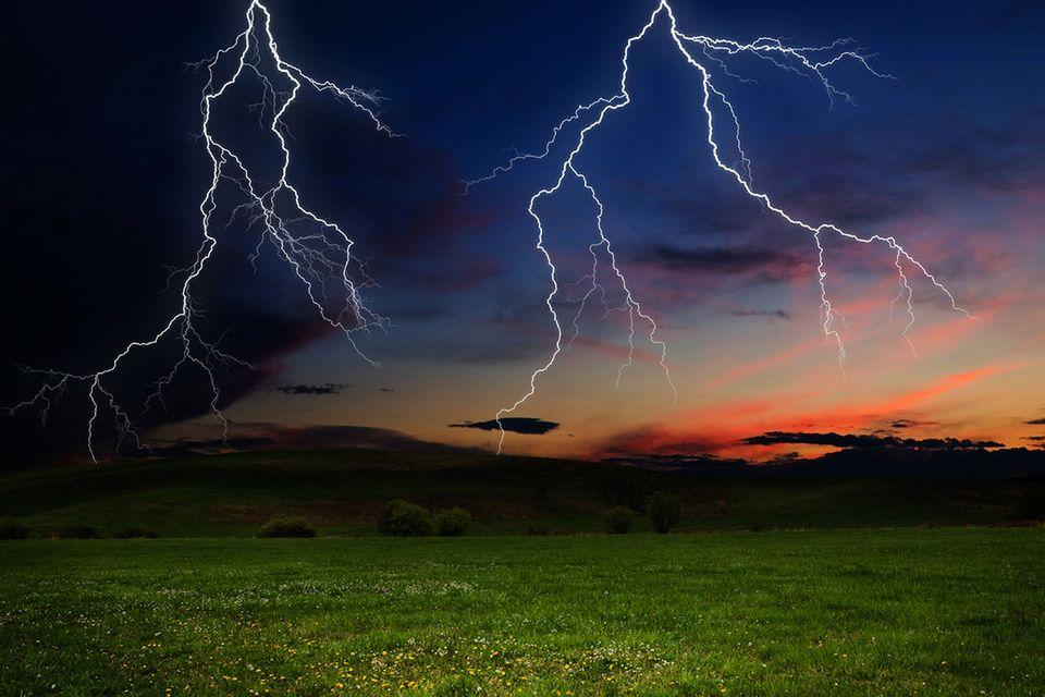 Blitzatlas: Hier schlagen die meisten Blitze ein
