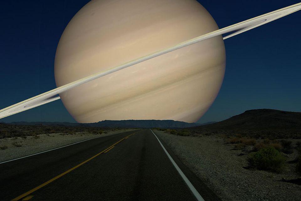 Faszinierende Illustrationen: Saturn 120536 km