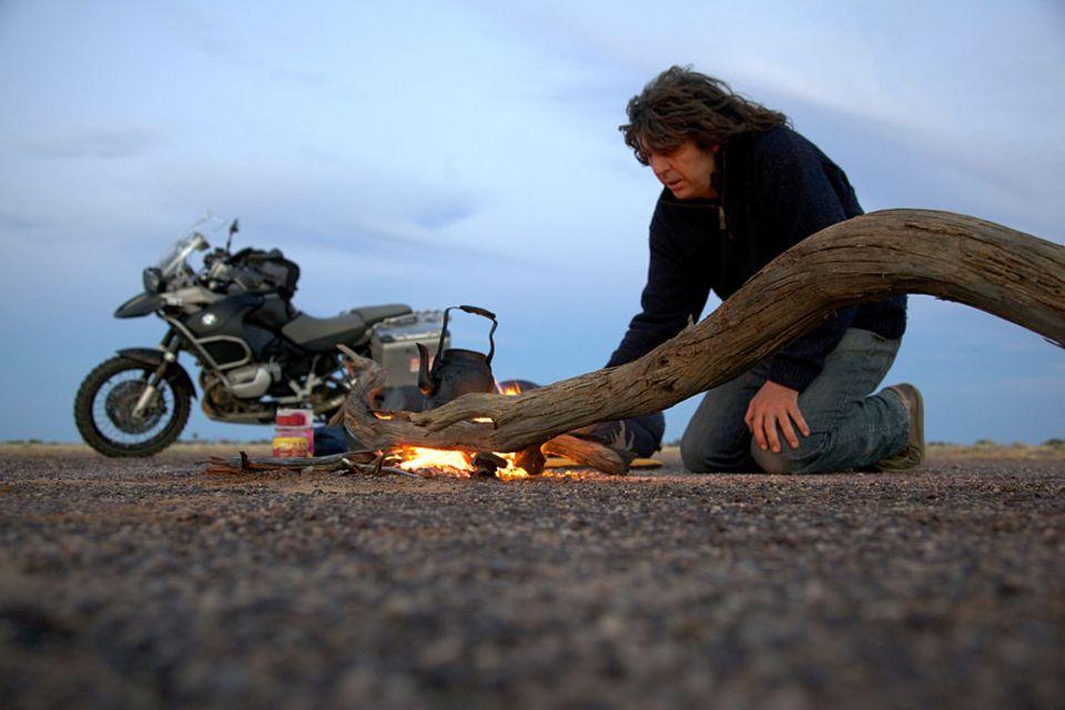Tipps von Michael Martin: Michael Martin ist in seinem Leben mehr als eine Million Kilometer gereist. Viele davon legte er auf seinem Motorrad zurück