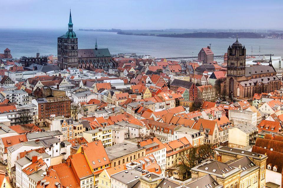 Ostsee: Streifzug durch Stralsund