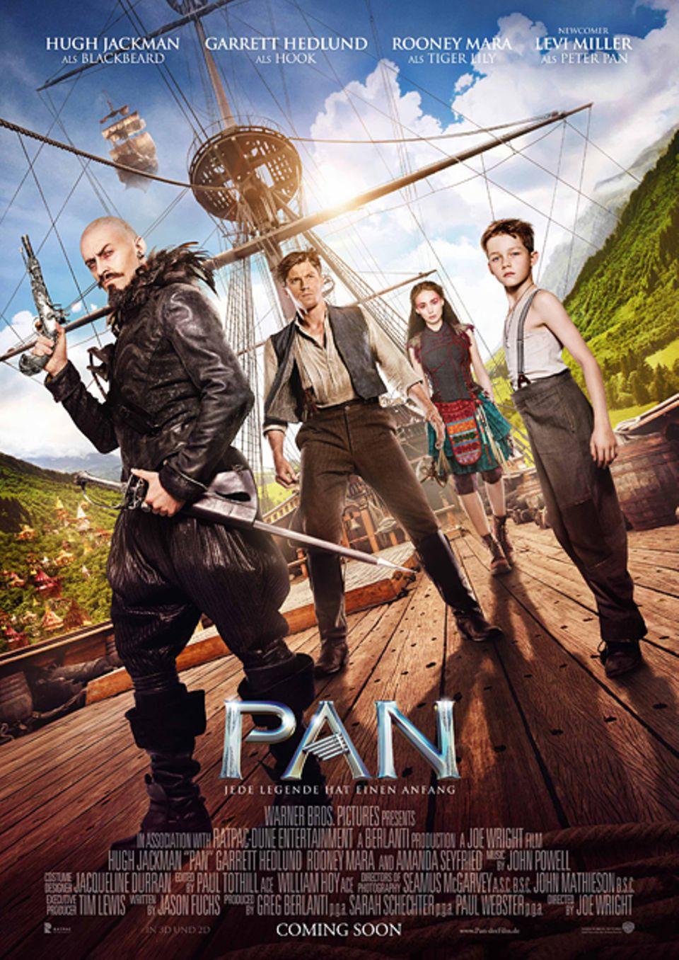 Filmtipp: PAN: ab dem 17. März 2016 auf DVD und Blu-ray
