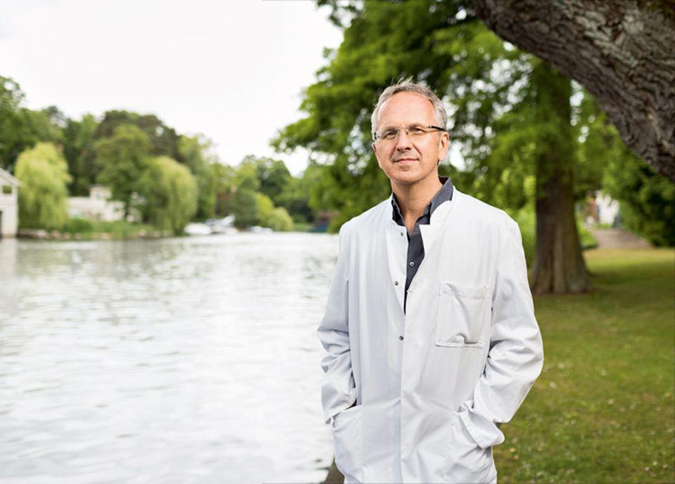 Herz: Professor Andreas Michalsen ist Chefarzt der Abteilung Naturheilkunde am Immanuel Krankenhaus Berlin