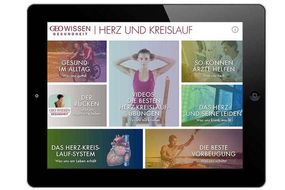 Das gesunde Herz: Die Herz-App fürs Tablet