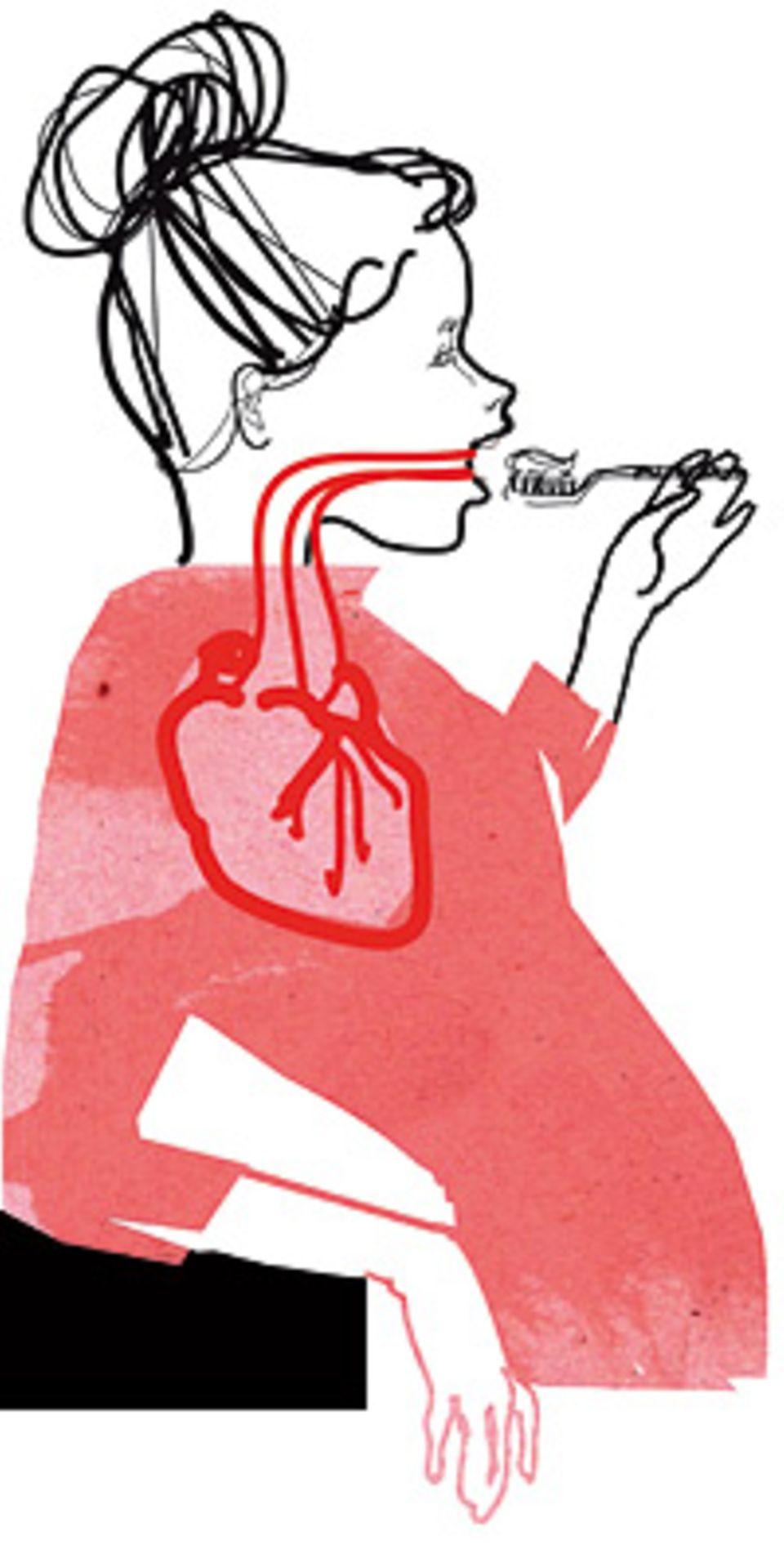 Herzkrankheiten: Wer seine Zähne penibel sauber hält, senkt das Risiko eines Herzinfarkts deutlich