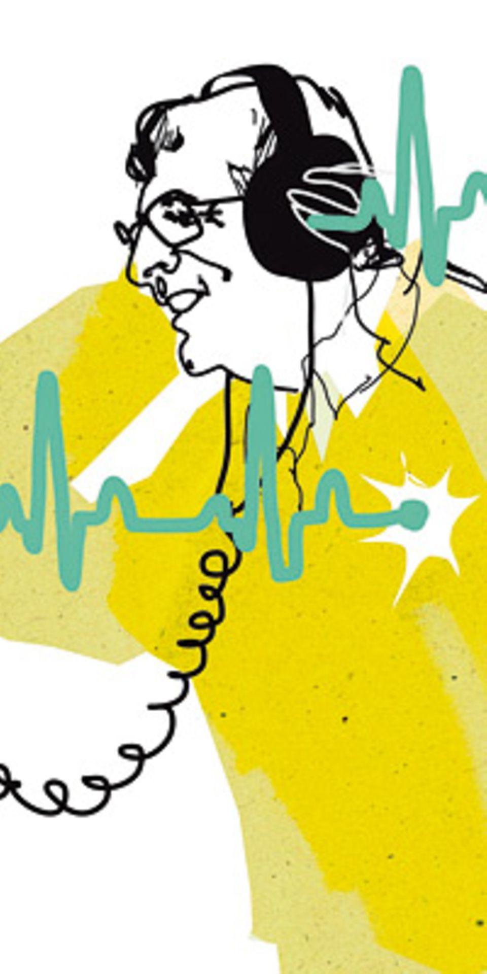 Herzkrankheiten: Musik trifft mitten ins Herz und beeinflusst Puls und Blutdruck