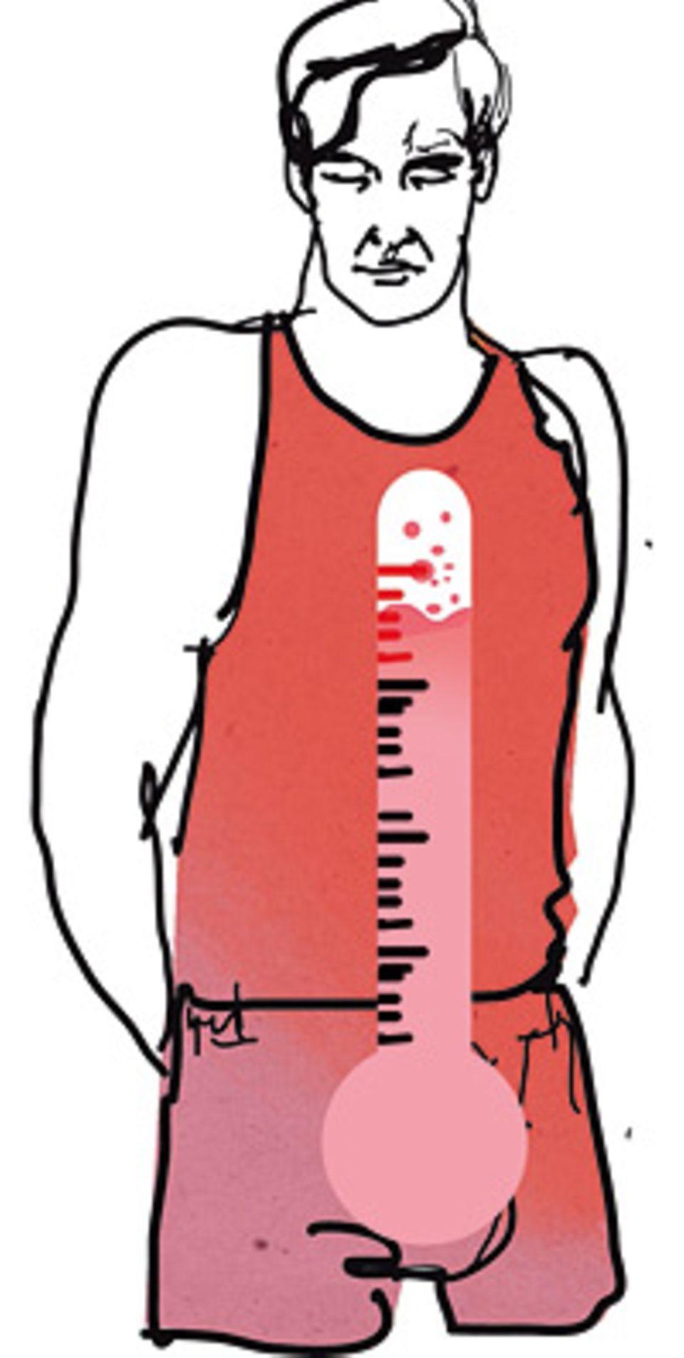 Herzkrankheiten: Wenn die Erregungskurve ansteigt, strömt Blut schneller durch den Körper