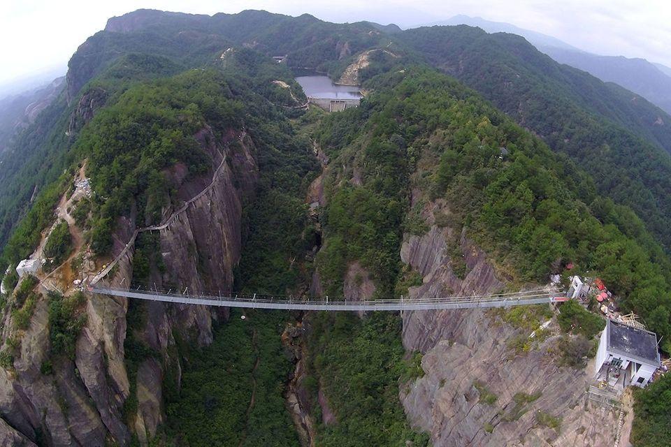 China: Höhenrausch im Shiniuzhai Nationalpark