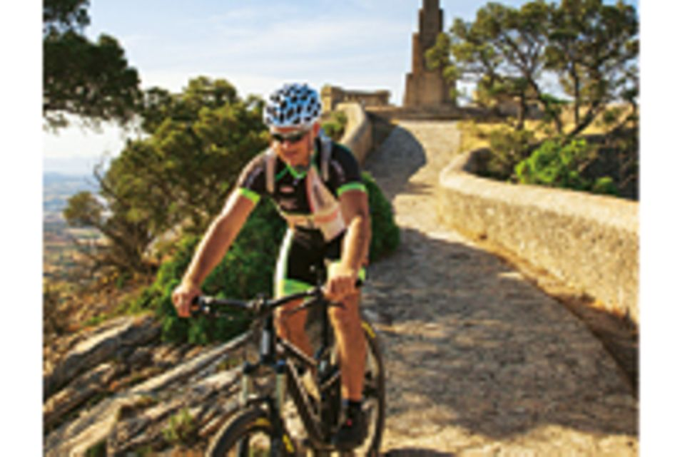 Service: Die Radtour: Von Cala d'Or ins Hinterland und auf den Puig de Sant Salvador