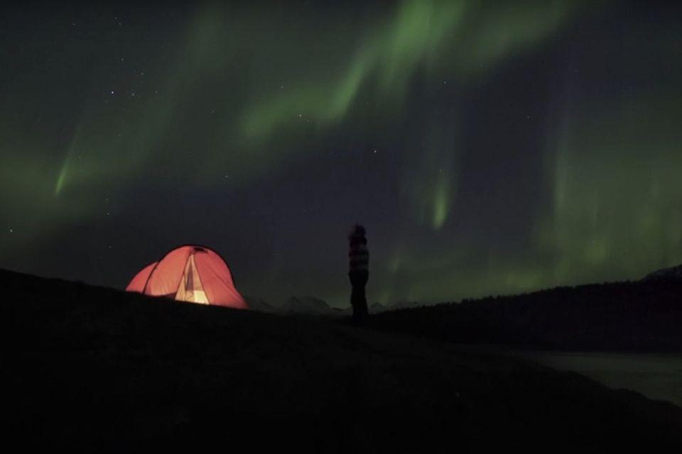 Video: Nordlicht-Spektakel über Norwegen