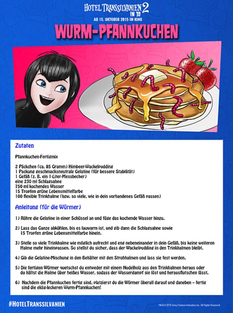 Kino: Rezept: Wurmpfannkuchen