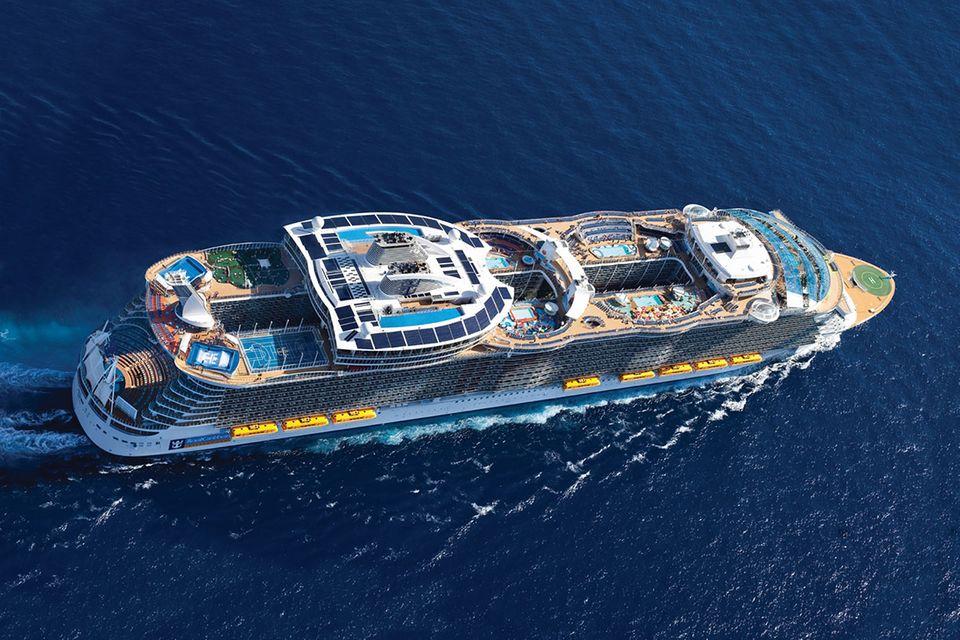 Kreuzfahrtschiffe: Ein Leben auf dem Meer