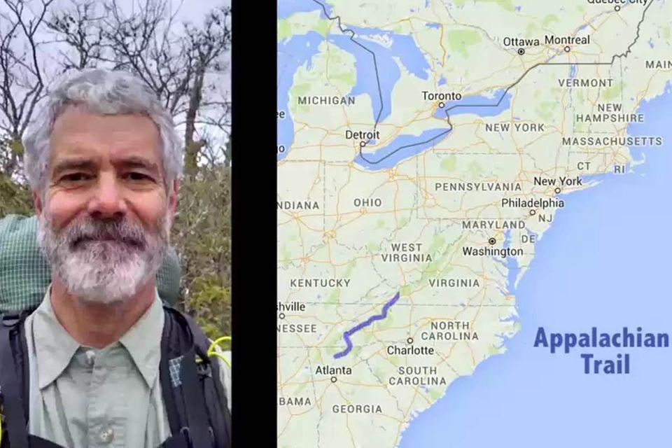 Bartwuchs im Zeitraffer: Wie man nach sechs Monaten auf dem Appalachian Trail aussieht