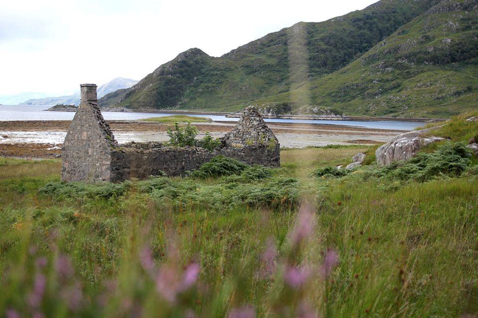 Knoydart in Schottland: Still und einsam ist es auf der schottischen Halbinsel Knoydart