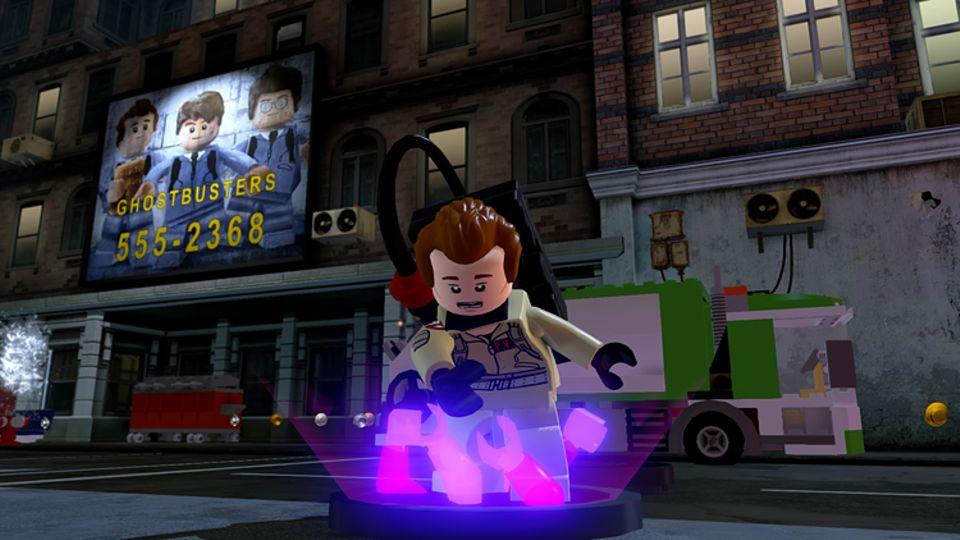 Konsolenspiel: Auch die Ghostbusters helfen im Kampf gegen den bösen Lord Vortech