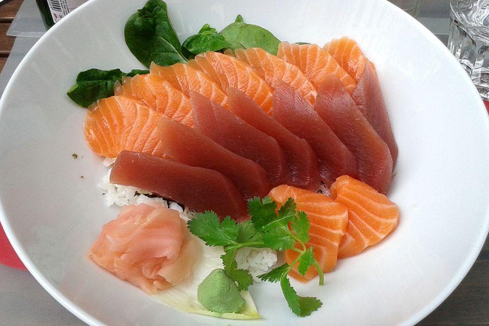 Brüssel: Sind das wirklich Roter Thun und Lachs? In 54 Prozent aller Proben aus Brüsseler Sushi-Restaurants konnten die Tester einen Betrug nachweisen