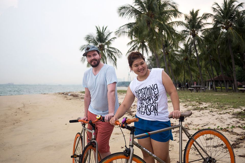 Reisetipps: Bow überredete unseren Autor Jan Henne, statt der normalen Räder lieber die stylischen Fixies zu nehmen