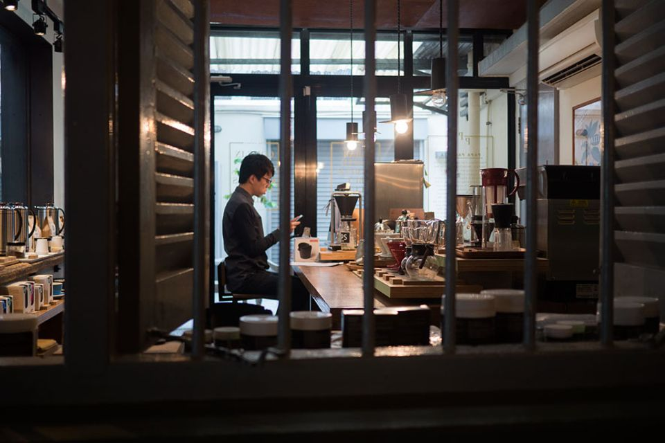Reisetipps: Direkt neben dem Café wird auch das passende Zubehör für den perfekten Filterkaffee verkauft