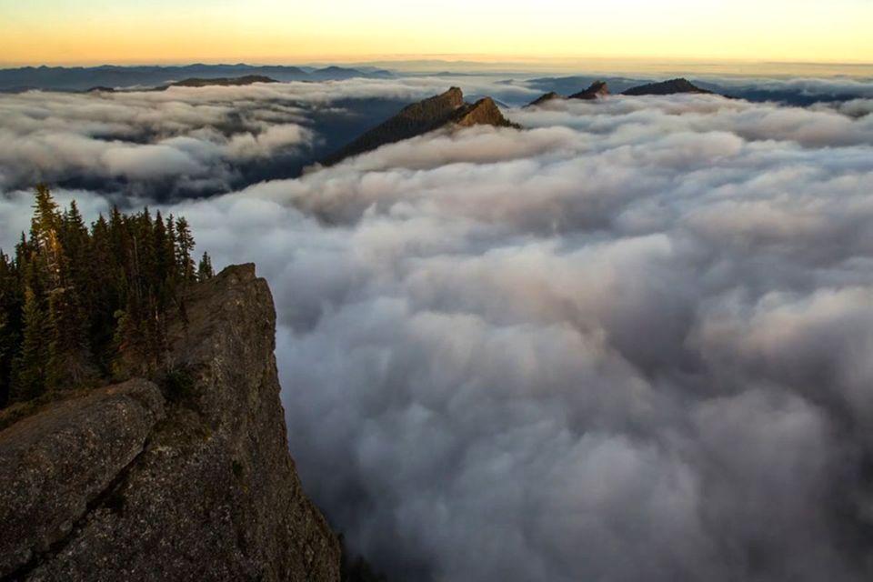 Video: Wandern über den Wolken