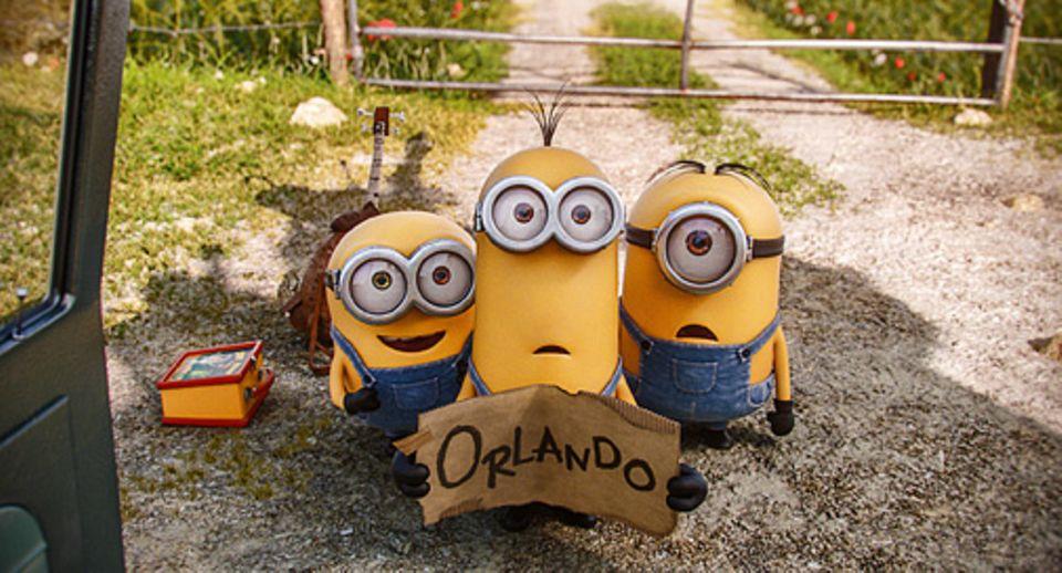 Filmtipp: Die Minions auf dem Weg nach Orlando - zum großen Treffen der Superschurken