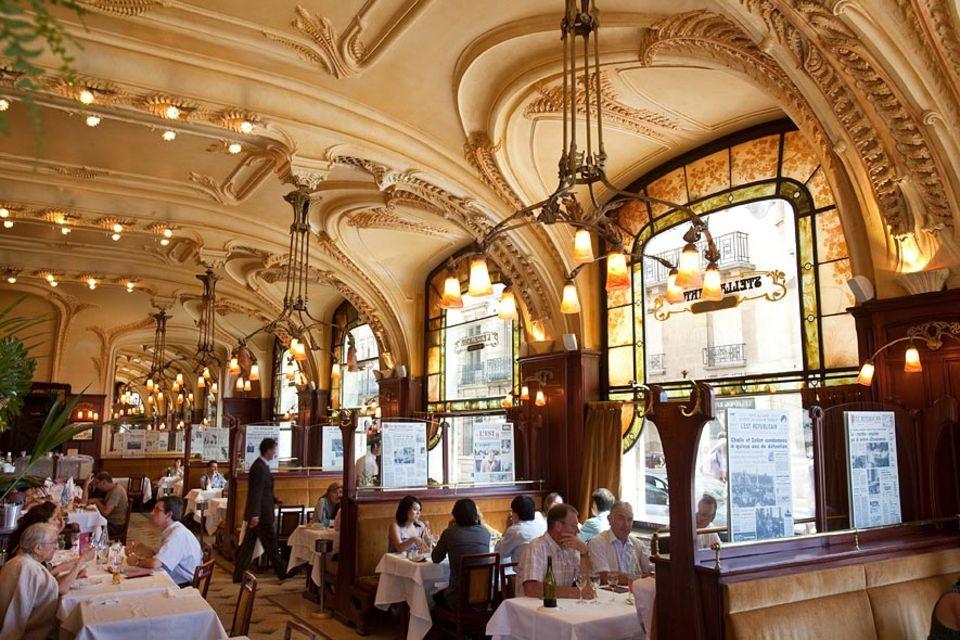 """Frankreich: Das Auge isst mit: Die """"Brasserie Excelsior"""" - ein opulentes ausgestattet Gesamtkunstwerk der École de Nancy"""