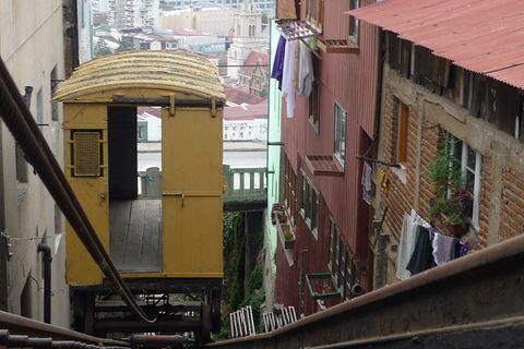 Valparaíso, die Stadt der Aufzüge