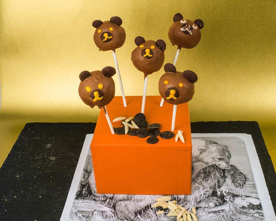 Rezept: Bären-Cakepops