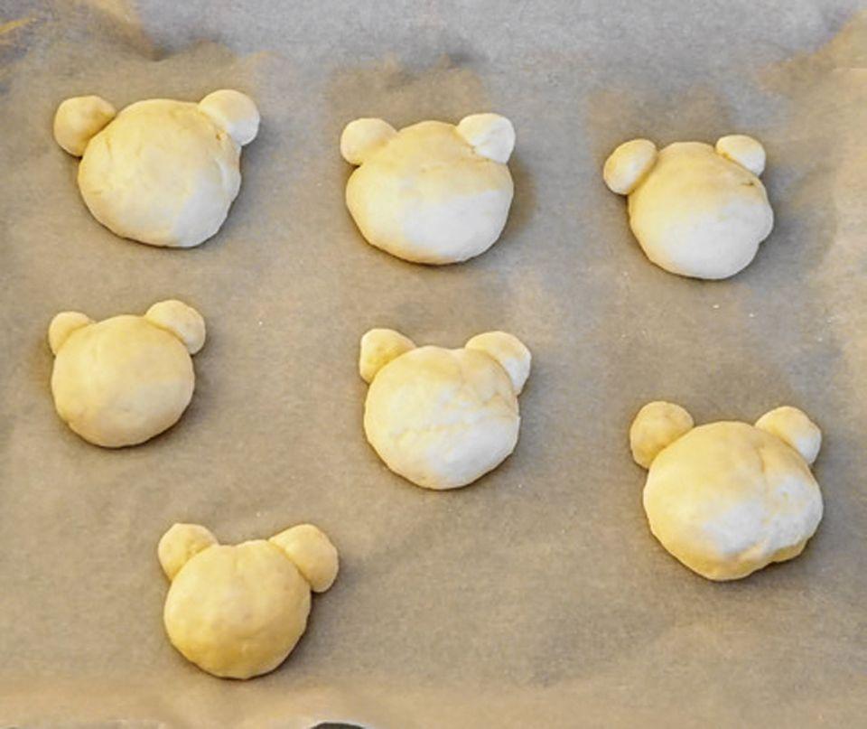 Rezept: Teddybrötchen