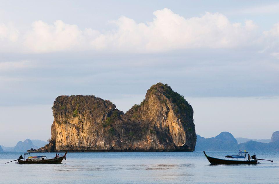 Asien: Die Insel Ko Hai ist bestens geeignet zum Entspannen und Spazierengehen