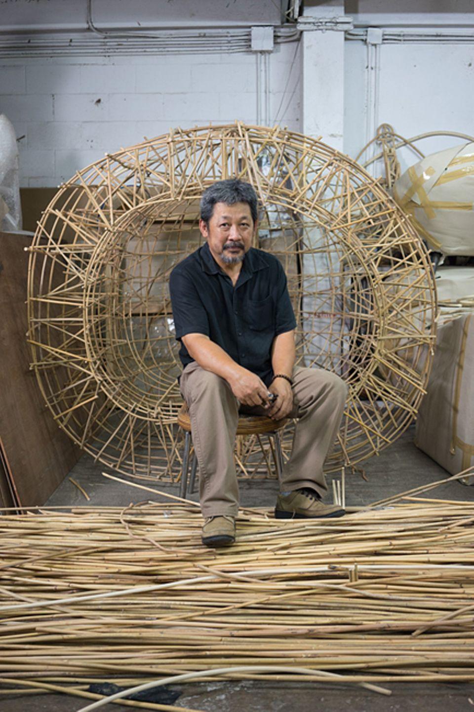 Thailand: Mit seinem Label Planet 2001 hat Udom Udomsrianan, 59, das moderne Thai-Design entscheidend geprägt