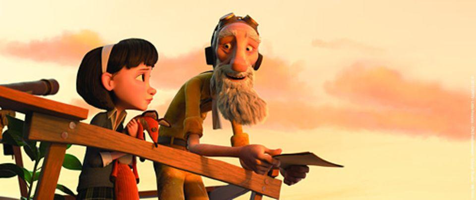 Filmtipp: Gemeinsam mit dem schrulligen, alten Mann von nebenan erlebt das kleine Mädchen ein spannendes Abenteuer