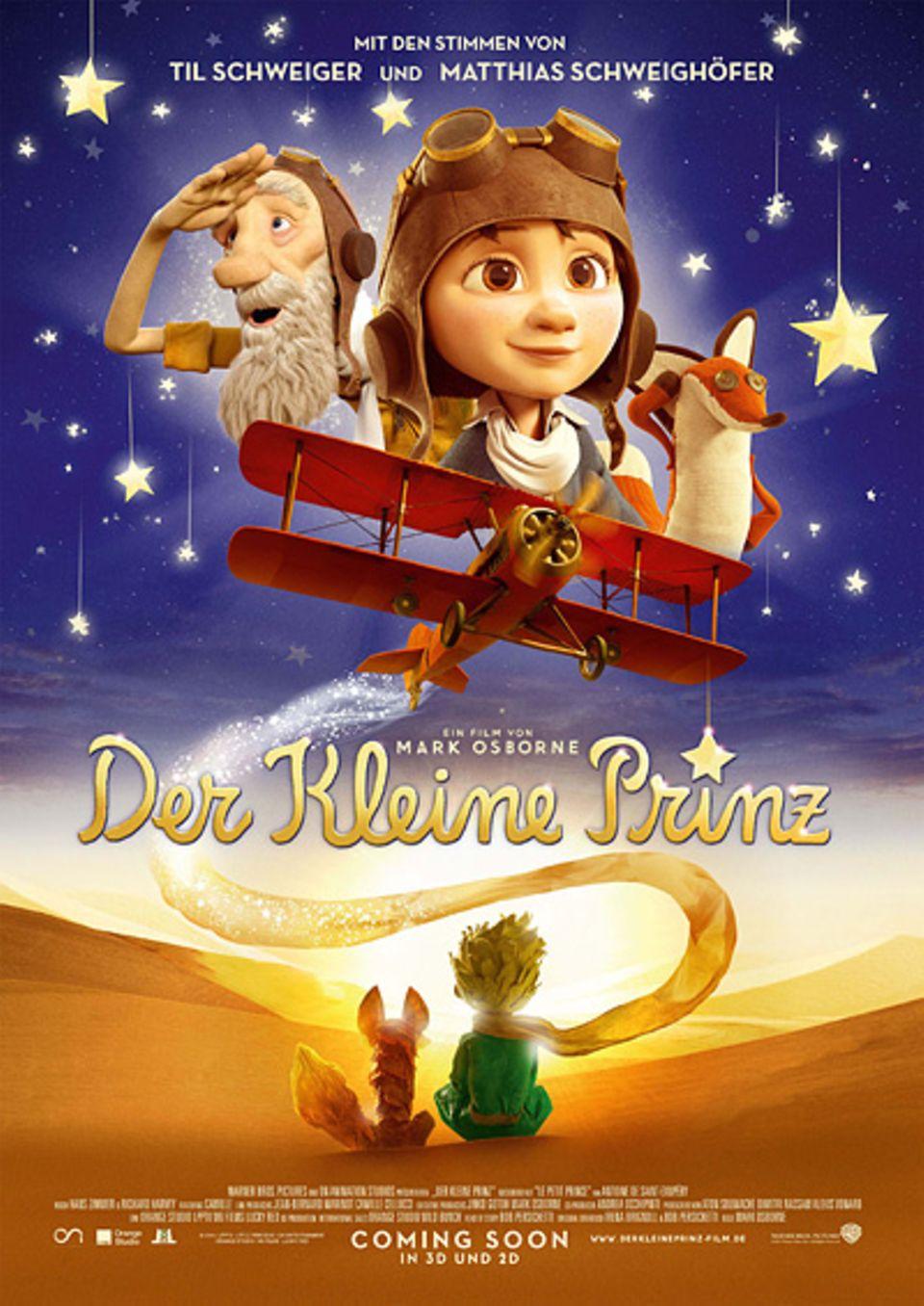 Filmtipp: Der kleine Prinz - ab 21. April 2016 auf DVD und Blu-ray
