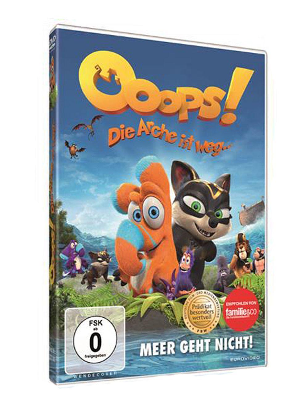 """Filmtipp: """"Ooops - Die Arche ist weg!"""" gibt es ab dem 4. Januar 2016 auf DVD und Blu-ray im Handel"""