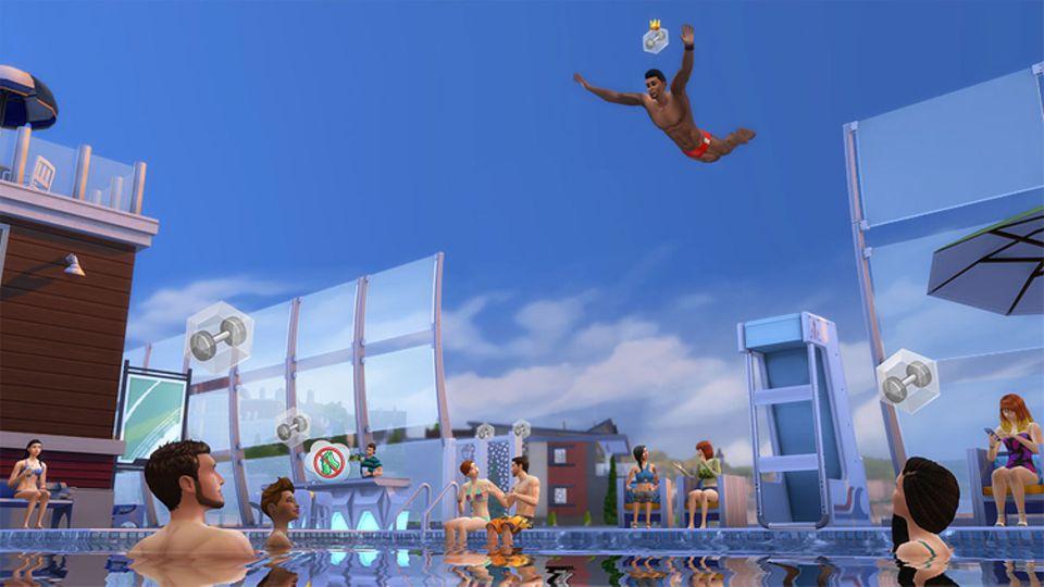 Spieletest: Richtige Wasserratten treten am besten dem Schwimmverein bei und zeigen ihr Können