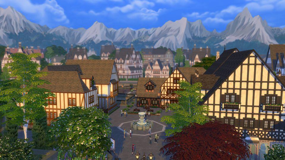 Spieletest: Das hübsche Windenburg mit seinen Fachwerkhäusern beherbergt ein Heckenlabyrinth im Schlossgarten und rätselhafte alte Ruinen..