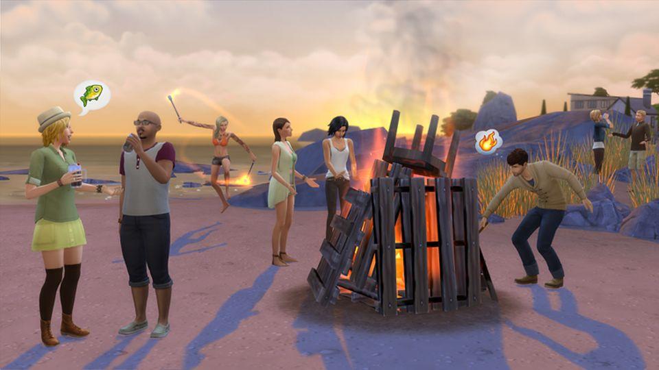 Spieletest: Entfache ein Lagerfeuer und erzähle deinen Freunden spannende Geschichten