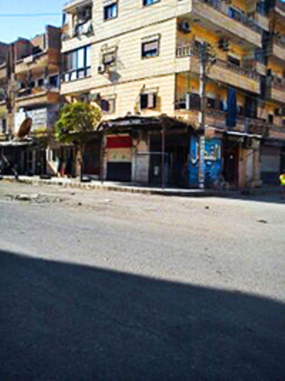 Flüchtlinge: Vier Stockwerke, sechs Kinderzimmer: In diesem Haus lebte Familie Alhays