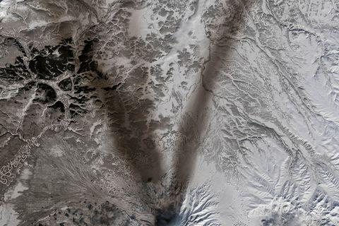 Nasa: Das Alphabet in 26 Satelliten-Bildern