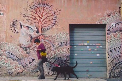 Video: Street Art in Rom